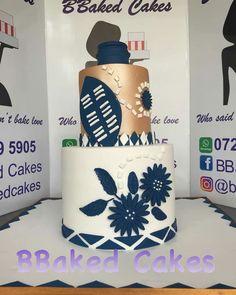 Zulu Traditional Wedding, Traditional Cakes, Lion Cakes, African Print Fashion, No Bake Cake, Birthday Cake, Baking, Desserts, Beautiful