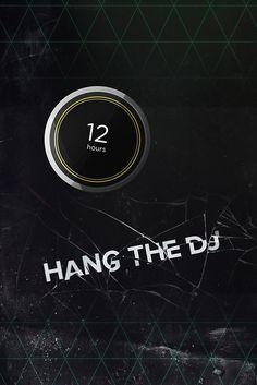 'Black Mirror - Hang The DJ' Poster by sans-serif Film Black Mirror, Mirrored Wallpaper, Sorority Crafts, The Dj, Best Series, 36, Netflix, Geek, Phone
