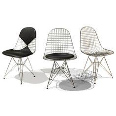Bikini Chair, Wire Mesh Chair
