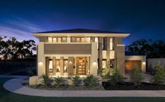 landscaping really complements the exterior of the home