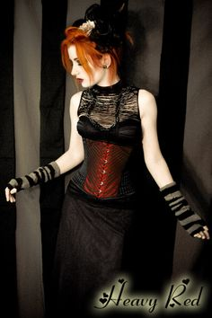 i want her corset, and her hair...can i just be her?she looks so glamorous