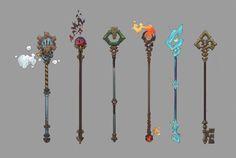 wizard staff designs