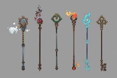 wizard staff designs