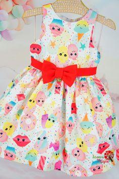 Vestido Infantil Sobremesas Mon Sucré