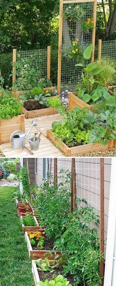 Dress Up Your Garden with a Free Standing Wooden Garden Trellis Planter #gardeningtips #trellis #gardenplanter