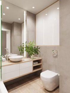 simple bathroom 15 Simple DIY Ideas to Upgrade Old Bathroom Storage # Bathroom Layout, Simple Bathroom, Modern Bathroom Design, Bathroom Interior Design, Bathroom Storage, Bathroom Ideas, Bathroom Organization, Bathroom Cleaning, Tile Layout