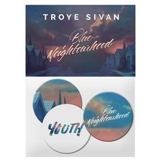 BLUE NEIGHBOURHOOD YOUTH BUTTON PACK | Troye Sivan