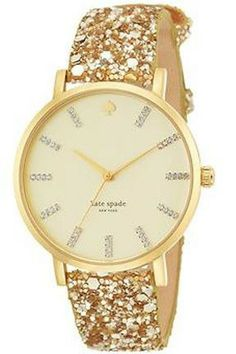 'Tis the season for gorgeous glitter watches!