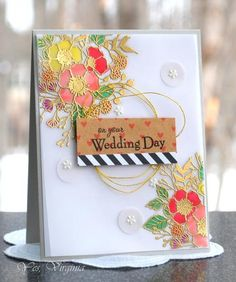 on your Wedding Day by Stamping Virginia -FS481 at Splitcoaststampers