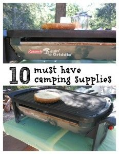 9 must have camping supplies... Check comments for #10 :-) lots of good ideas!
