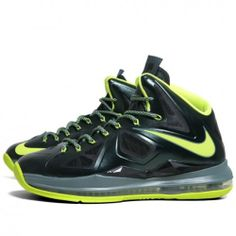 hot sale online c5f2c c88ef Nike Lebron X (Dunkman) Limited release (Seaweed Atomic green-Hasta)