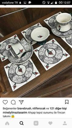 Turkish Tiles, Ceramic Plates, Geometric Designs, Arabesque, Hand Painted, Invitations, Holiday Decor, Pattern, Etsy