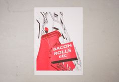 Bacon Rolls etc, Easter Road - Tommy Perman