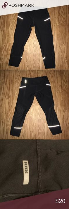 RBX Women Running Leggings RBX Women Running Tights in excellent condition.  Size: M Color: Black GBX Pants Leggings