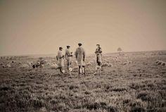Les Landes avant que Napoléon 3 décide d'y planter des pins… Photo de Félix Arnaudin circa 1870 @MuseeAquitaine