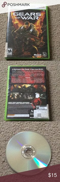 Gears of War Xbox 360 and is in top condition xbox Other