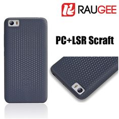 2016 New Arrival Original Official Black Gray PC LSR Craft Anti-knock Back Cover Case For Xiaomi Mi5 Smart Phone * View the item in details by clicking the VISIT button