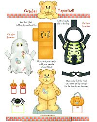 Halloween Paper Doll Auf billybear4kids.com http://www.pinterest.com/pearlswithplaid/paper-dolls-for-real/