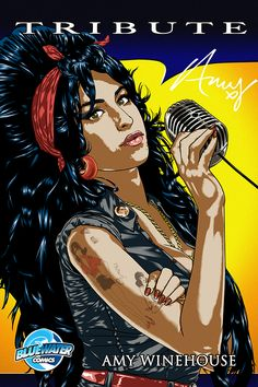 """Tribute: Amy Winehouse - COVER A: coming in July! Amy Winehouse, the newest member of the """"27 club,"""" musicians at the height of their career who have lost their life at 27 years old, lived a hard and fast life. Her story, illustrated on her body in the form of tattoos, tells the tell of a talent flaming out long before her time."""