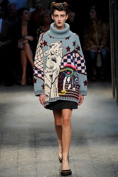 The complete Antonio Marras Fall 2014 Ready-to-Wear fashion show now on Vogue Runway. Fashion Moda, Runway Fashion, Fashion Show, Fashion Design, Fashion Trends, Fashion 2018, Milan Fashion, High Fashion, Winter Fashion