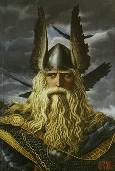 Baldr is a god of light and purity in Norse Mythology, and a son of the god Odin and the goddess Frigg.