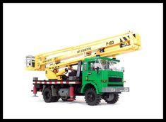 Star 244 w. Lego Crane, Lego Truck, City Farm, Lego Construction, Alfa Romeo Cars, Bmw Series, Lego Models, Lego Technic, Audi Tt