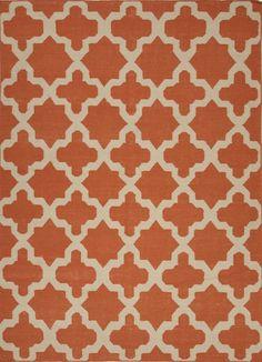 Jaipur Rugs Maroc Aster Rectangle Merlot Red Flat Weave 100% Wool Area – zoostores.com