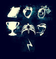 The 7 horcrux Fanart Harry Potter, Harry Potter World, Harry Potter Stories, Harry Potter Fandom, Harry Potter Memes, Harry Potter Painting, Friends Come And Go, Fantastic Beasts, 7 Horcruxes