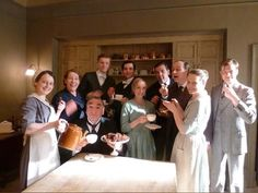 downton abbey downstairs characters | Downton Abbey - Season 4 downstairs cast | Downton Abbey | Pinterest