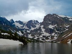 Impression Evergreen: Isabelle Lake, Colorado