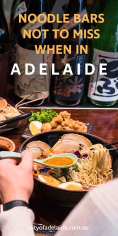 There's nothing like a hot bowl of noodle soup to warm the soul and belly on a chill, winter day in Autumn. From Japanese ramen to Vietnames pho, be sure not to miss these noodle bars when in Adelaide.