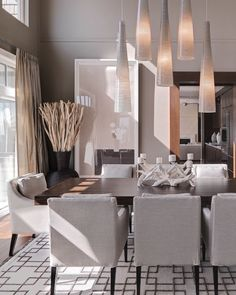 108 Best Contemporary Dining Rooms Images In 2019 Lunch Room - Modern-dining-room-decor-ideas