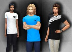 Sims 4 CC's - The Best: Shirts by My Stuff