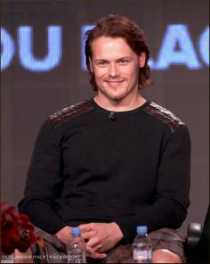 Sam Heughan.. The main reason I will be watching the series Outlander.....