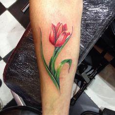 Dutch tulip tattoo