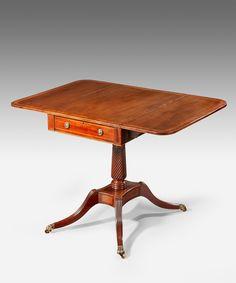 An #antique  Georgian pembroke table. #interiordesign