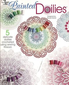 Free crochet doilies patterns, Free coaster crochet patterns
