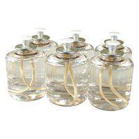 SternoCandleLamp 30122 Soft Light 50 Hour Smokeless Clear Liquid Paraffin Wax Lamp Fuel Cartridge -  6 / Pack $11