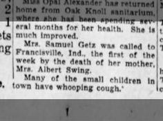 Mrs. Samuel Getz