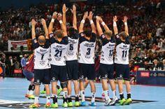 EHF Champions League 2014 Anders Eggert, Jacob Heinl, Drasko Nenadic, Tobias Karlsson, Steffen Weinhold, Lasse Svan
