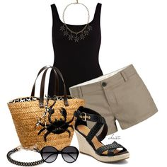 """""""Wedge Sandals"""" by christa72 on Polyvore"""