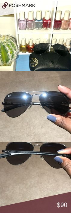 1c1e6b2497d Unisex Ray Ban RB 8307 Polarized Sunglasses Still in good condition just  two minor scratches that
