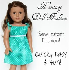 American Girl doll clothes pattern 2