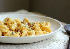Lunes Sin Carne: Ñoquis de calabaza y ricota con manteca de queso azul