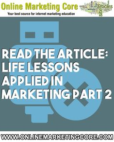 Life Lessons Applied In Marketing Part 2 Viral Marketing, Internet Marketing, Digital Marketing, Home Based Business, Online Business, People Make Mistakes, Work Task, Finishing School, Feel Tired