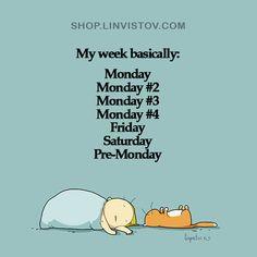 My week basically - Doodles - Lingvistov