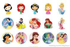 Free Bottle Cap Images: Disney - Baby disney bottle cap images