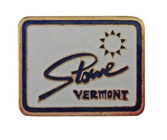 """STOWE VERMONT vintage enamel pin lapel ski snowboard snow mountain resort VT by VintageTrafficUSA  14.00 USD  A vintage Stowe pin. Excellent condition. Measures: approx 1"""" Add inspiration to your handbag tie jacket backpack hat or wall. Have some individuality = some flair! 20 years old hard to find vintage high-quality cloisonne lapel/pin. Beautiful die struck metal pin with colored glass enamel filling. -------------------------------------------- SECOND ITEM SHIPS FREE IN USA!!! LOW…"""