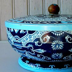 Blue Candy Tin