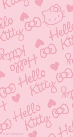 Birthday Background Wallpapers Pink Hello Kitty 64 Ideas For 2019 Hello Kitty Iphone Wallpaper, Wallpaper Iphone Love, Hello Kitty Backgrounds, Sanrio Wallpaper, Kawaii Wallpaper, Cellphone Wallpaper, Trendy Wallpaper, Wallpaper Stickers, Screen Wallpaper